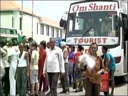 श्रीनगर की ओर रवाना हुए अमरनाथ यात्री