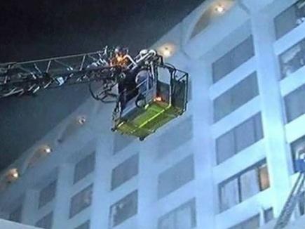 कराची के चार सितारा होटल में आग से 11 मरे
