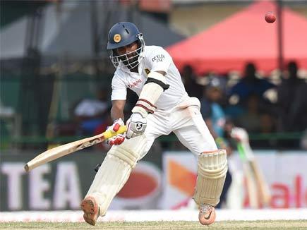श्रीलंका ने भारत को दिया ठोस जवाब सिल्वा के अर्धशतक मे