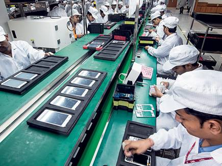 mobile phone manufacturing plant 31 05 2017