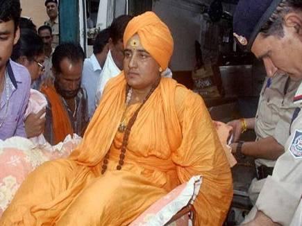 सिंहस्थ में नहीं जाने देने पर साध्वी प्रज्ञा ठाकुर ने शुरू  की भूख हड़त