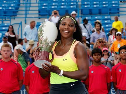 सेरेना ने सिनसिनाटी में जीता  खिताब