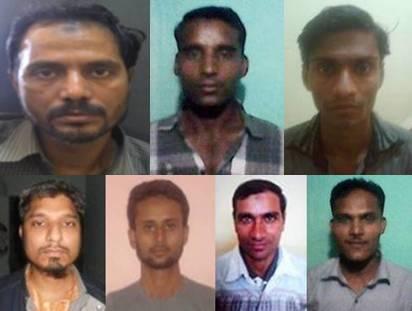 जेल से भागे सिमी के 8 आतंकियों को पुलिस ने किया ढेर