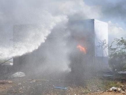 शिवकाशी में पटाखे की दुकान में भीषण आग, 9 की मौत