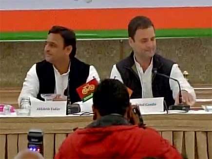 राहुल गांधी ने सपा-कांग्रेस गठबंधन को बताया गंगा-यमुना का मिलन