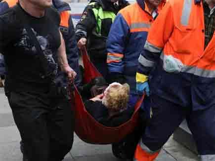 रूस की मेट्रो में धमाका, 10 मरे, 50 घायल