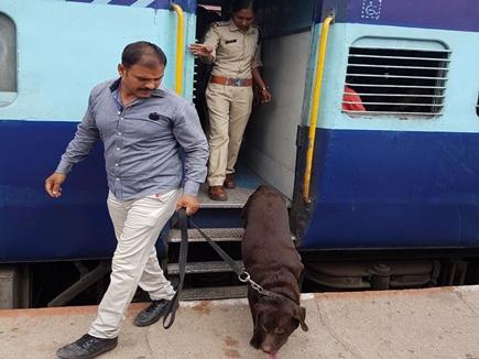 इंदौर - जबलपुर इंटरसिटी एक्सप्रेस में बम की अफवाह से अफरा-तफरी