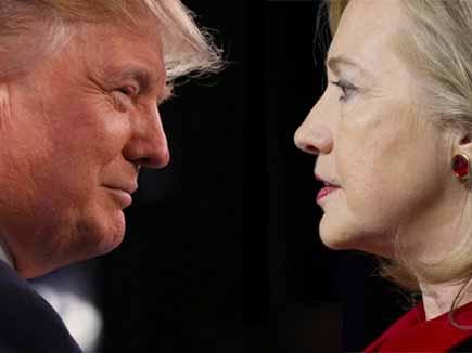 Presidential Race ,Donald Trump ,Hillary Clinton ,Campaign Shift,तेजी,घट,हिलेरी,ट्रंप,बीच,फासला
