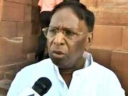 नारायणसामी होंगे  पुडुचेरी के नए मुख्यमंत्री