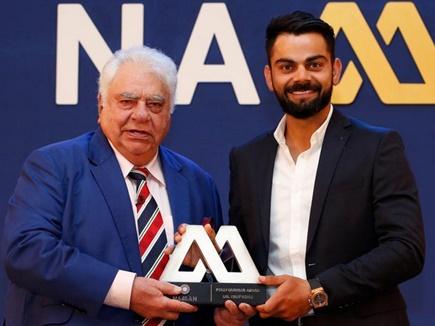 बीसीसीआई अवॉर्ड समारोह में नवाजे गए विराट और अश्विन