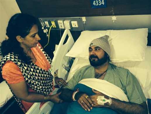 Navjot singh sidhu admit in hospital