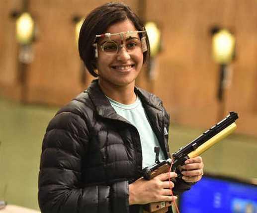 Heena Sidhu won Bronze in Shooting