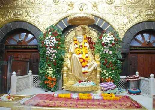 Donate 25 thousand dollar in Saibaba temple