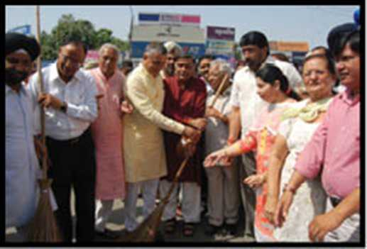 swash Bharat Abiyan sent door to door