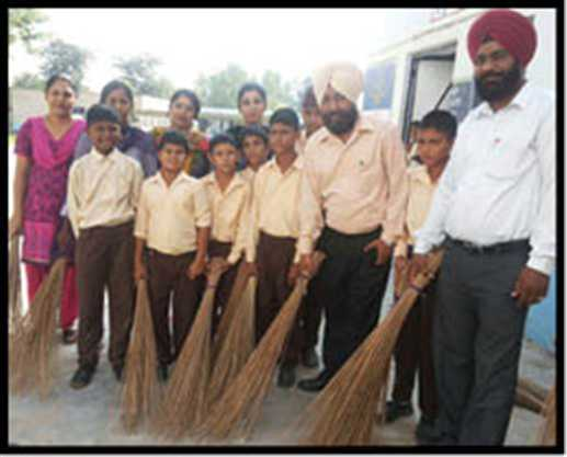 Inspire to student of Cleaning