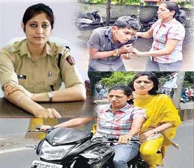 Image result for ips jyotipriya singh on Bike