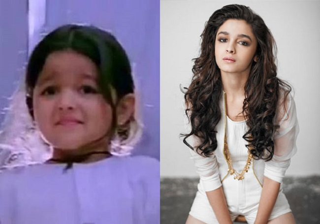 Successful Child artists of Bollywood as alia bhatt and aamir khan to sridevi