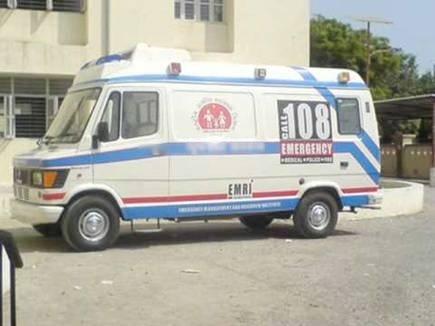 मांग पूरी नहीं, '108' के कर्मचारियों ने बंद किया काम