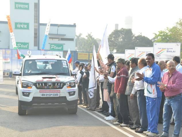 रवाना हो गई भारत-रूस मैत्री सद्भावना यात्रा