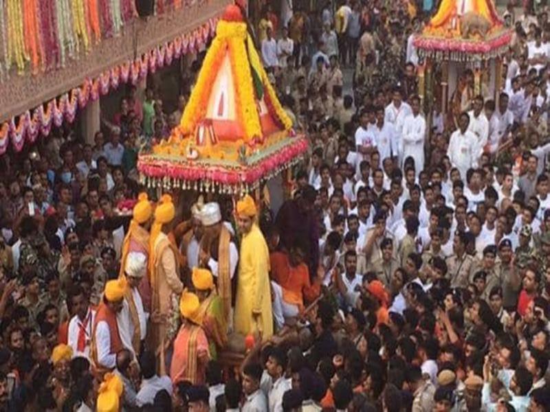 अब ननिहाल में रहेंगे भगवान जगन्नाथजी, जलयात्रा के साथ धूमधाम से निकाला जुलूस