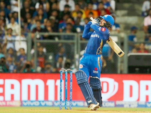 Image result for डी कॉक ने 26 गेंदों में 40 रन