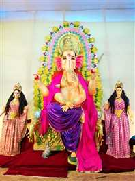 25 वर्षों में मायापुर इलाके की पहचान बना गणेश उत्सव