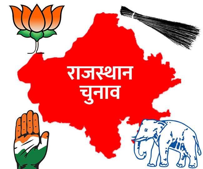 Rajasthan Exit Poll 2019 : राजस्थान में भाजपा के लिए 25 सीटों के साथ क्लीन स्वीप के आसार