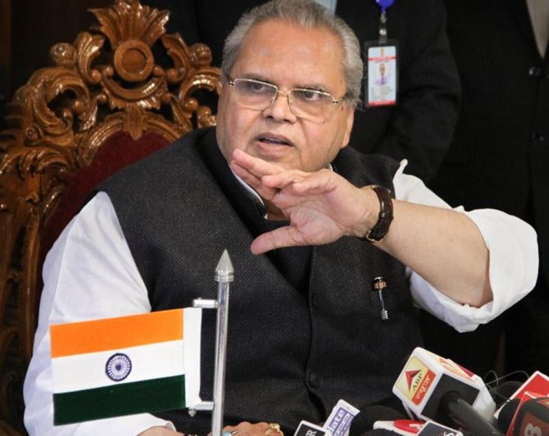 देश में राज्यपाल की स्थिति कमजोर, नहीं कर सकते प्रेस कांफ्रेंस : सत्यपाल मलिक