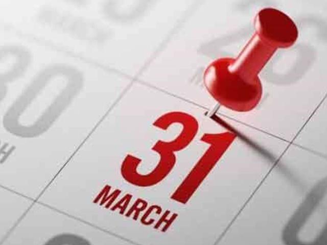 31 मार्च