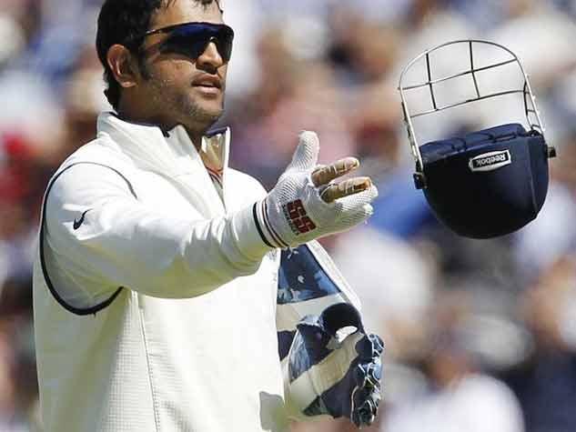 तस्वीरों में महेंद्र सिंह धोनी का टेस्ट सफर