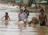 असम में बाढ़ से एक लाख लोग प्रभावित