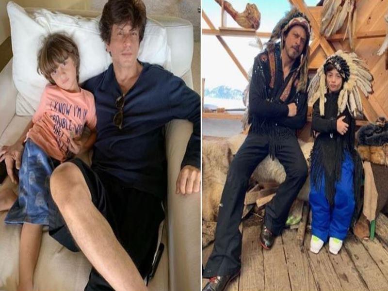 Happy Birthday AbRam: शाहरुख खान की कार्बन कॉपी है अबराम, यकीन नहीं होता तो देखिए ये Photos
