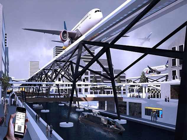 भविष्य में ऐसा होगा शहरों का एयरपोर्ट