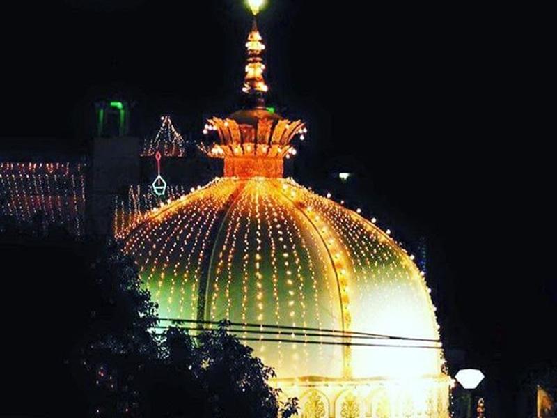 ख्वाजा मोइनुद्दीन चिश्ती की दरगाह में रात के समय 5 स्थानों पर हो सकेगी इबादत