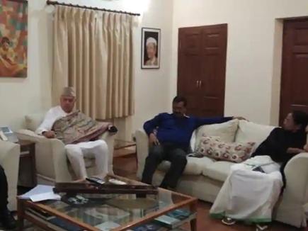 Lok Sabha Election 2019: पहली बार एक ही कमरे में मिले राहुल-केजरीवाल