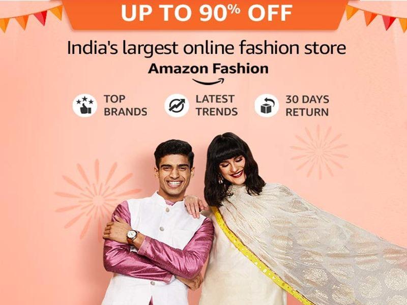 Amazon Great Indian Festival Sale 2019: फैशन प्रोडक्ट्स पर मिलेगा 90% तक डिस्काउंट