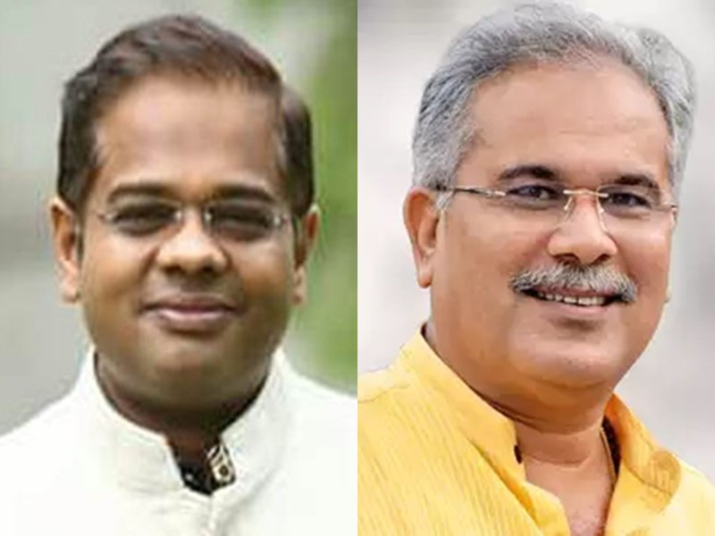 CM Bhupesh Baghel के खिलाफ FIR कराने थाना पहुंचे Amit Jogi