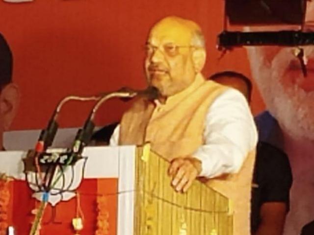 कश्मीर मां भारती का मुकुट है उसे कोई छीन नहीं सकता : अमित शाह