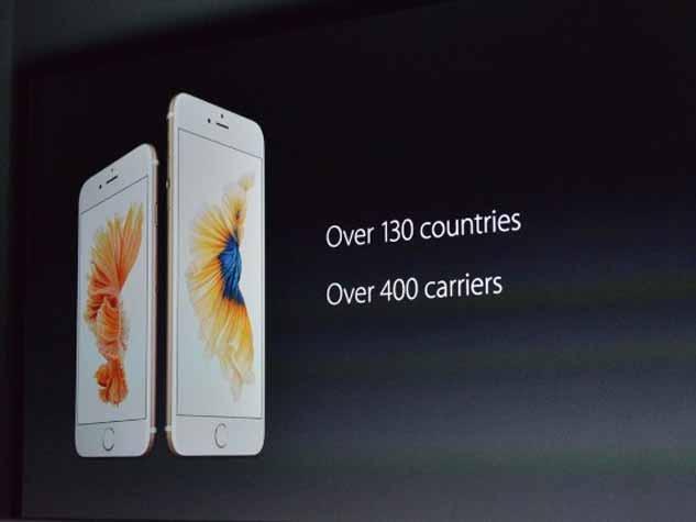 आइफोन 6एस और 6एस+
