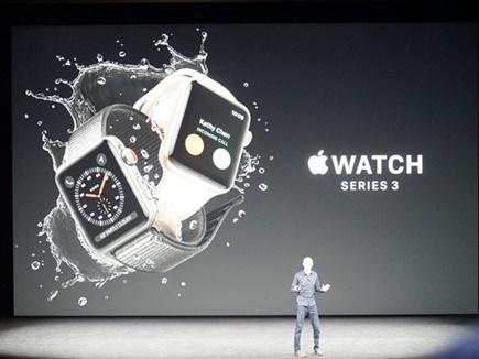 Apple ने लॉन्च की वॉच सीरीज 3