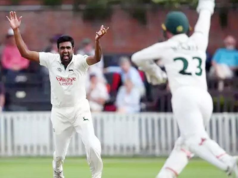 Ashwin in English county: वेस्टइंडीज के खिलाफ नहीं मिला मौका, लेकिन अश्विन ने इंग्लैंड में मचाई धूम