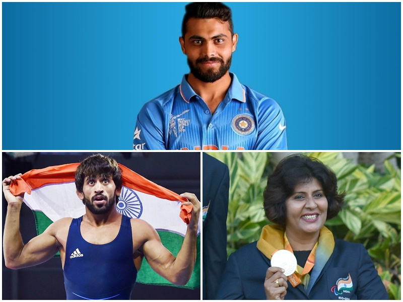 दीपा मलिक को मिलेगा खेल रत्न, क्रिकेटर जडेजा सहित 19 खिलाड़ियों को अर्जुन पुरस्कार, देखें पूरी सूची