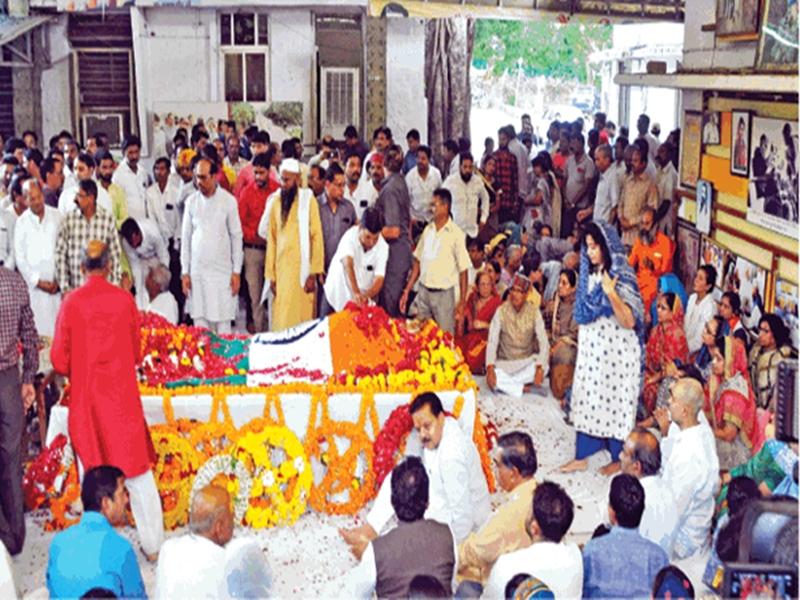Babulal Gaur Demise : हमेशा साथ खड़े रहने वाले 'बाबूजी' के अंतिम दर्शन के लिए उमड़ा हुजूम