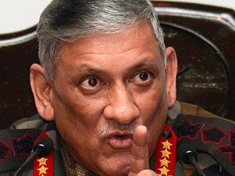सेना प्रमुख का दावा - बालाकोट के बाद युद्ध के लिए तैयार थी भारतीय सेना