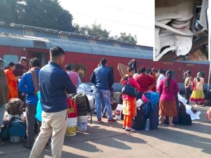 Bandra Patna Express: टूटे एक्सल बॉक्स के सहारे भुसावल से इटारसी आ गई ट्रेन