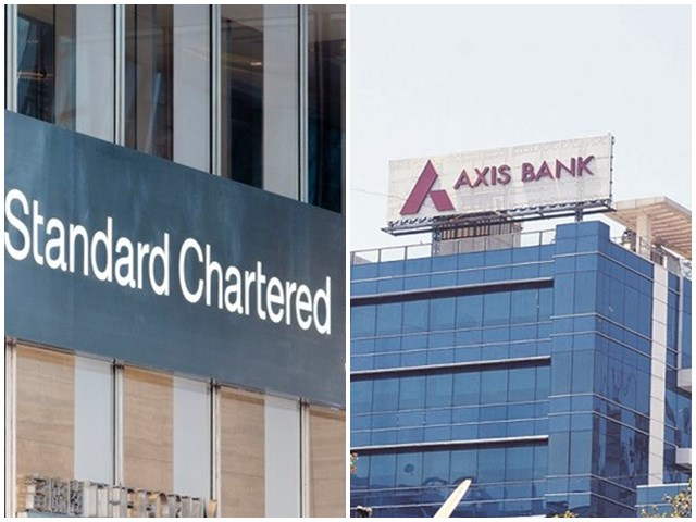 Axis Bank और Standard Chartered पर आज मुकदमा करेगी सरकार