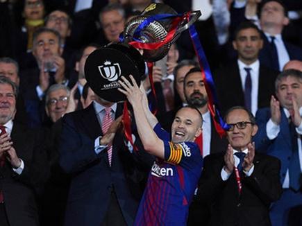 बार्सिलोना ने जीता लगातार चौथा कोपा डेल रे खिताब