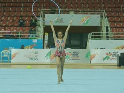 Khelo India Youth Games: जम्मू-कश्मीर की बवलीन ने जिम्नास्टिक्स में जीते 3 स्वर्ण और 2 रजत