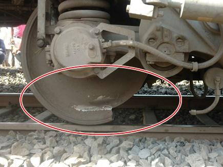 बैतूल : यशवंतपुर ट्रेन का पहिया टूटा, बड़ा हादसा टला