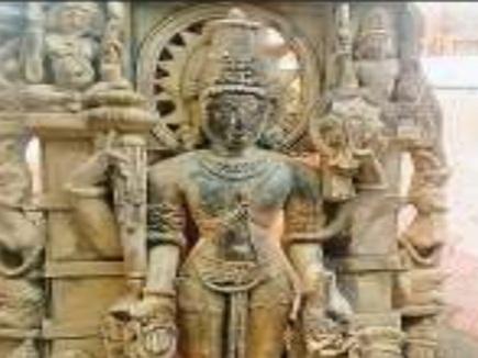 शुजालपुर : नदी में मिली भगवान विष्णु की 1000 साल पुरानी प्रतिमा